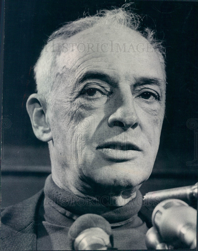 1976 Nobel Prize Winning Author Saul Bellow Press Photo - Historic Images