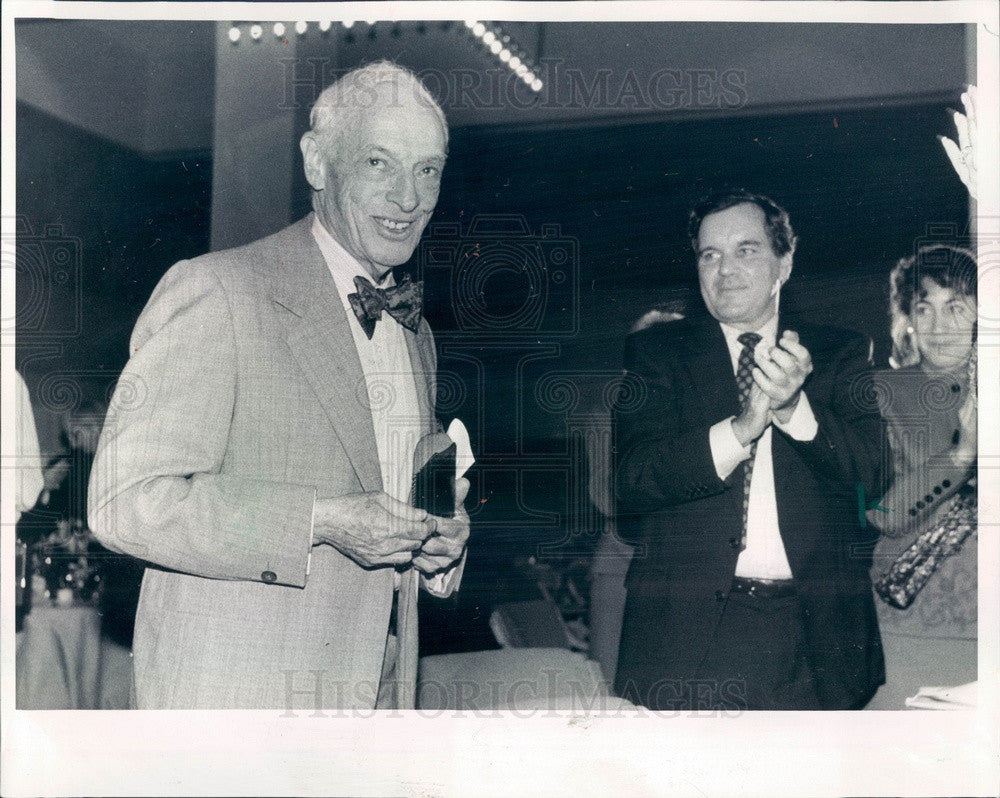 1990 Nobel Prize Winning Author Saul Bellow Press Photo - Historic Images