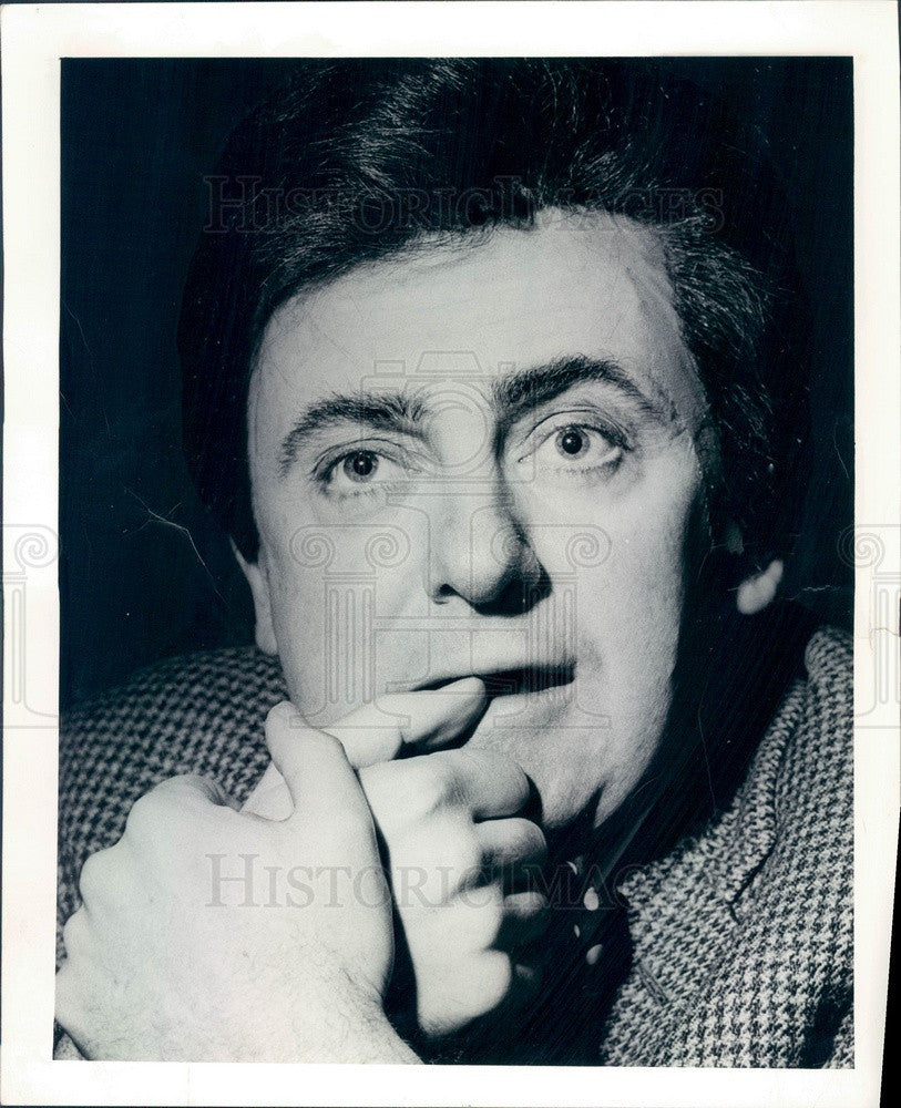 1966 Actor & Playwright Jerome Kilty Press Photo - Historic Images