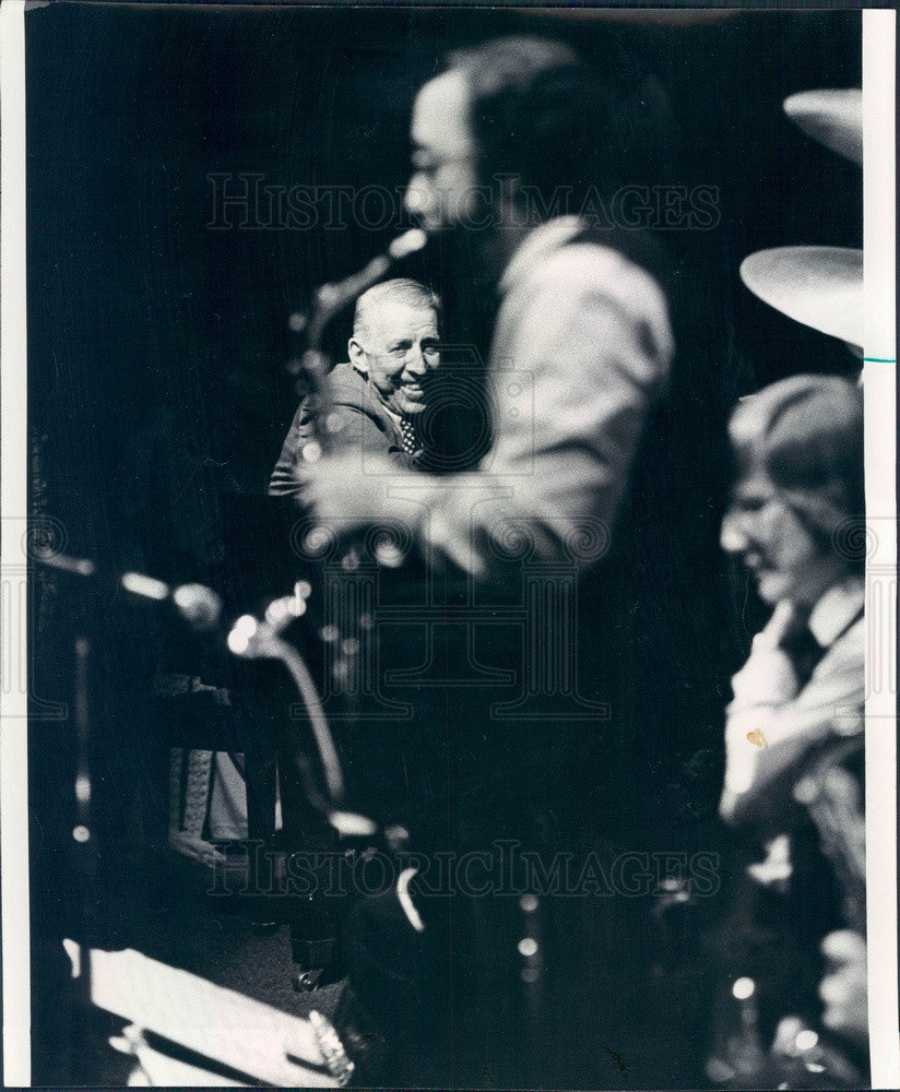 1974 Jazz Musician/Bandleader Stan Kenton Press Photo - Historic Images