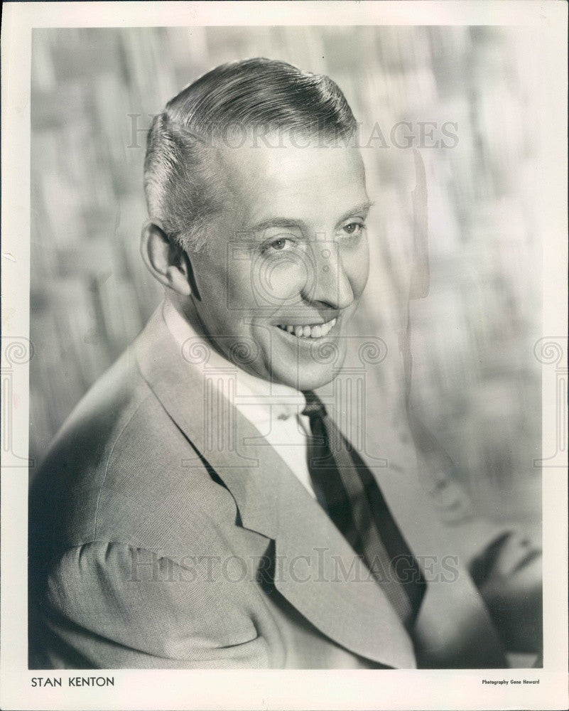 1953 Jazz Musician/Bandleader Stan Kenton Press Photo - Historic Images