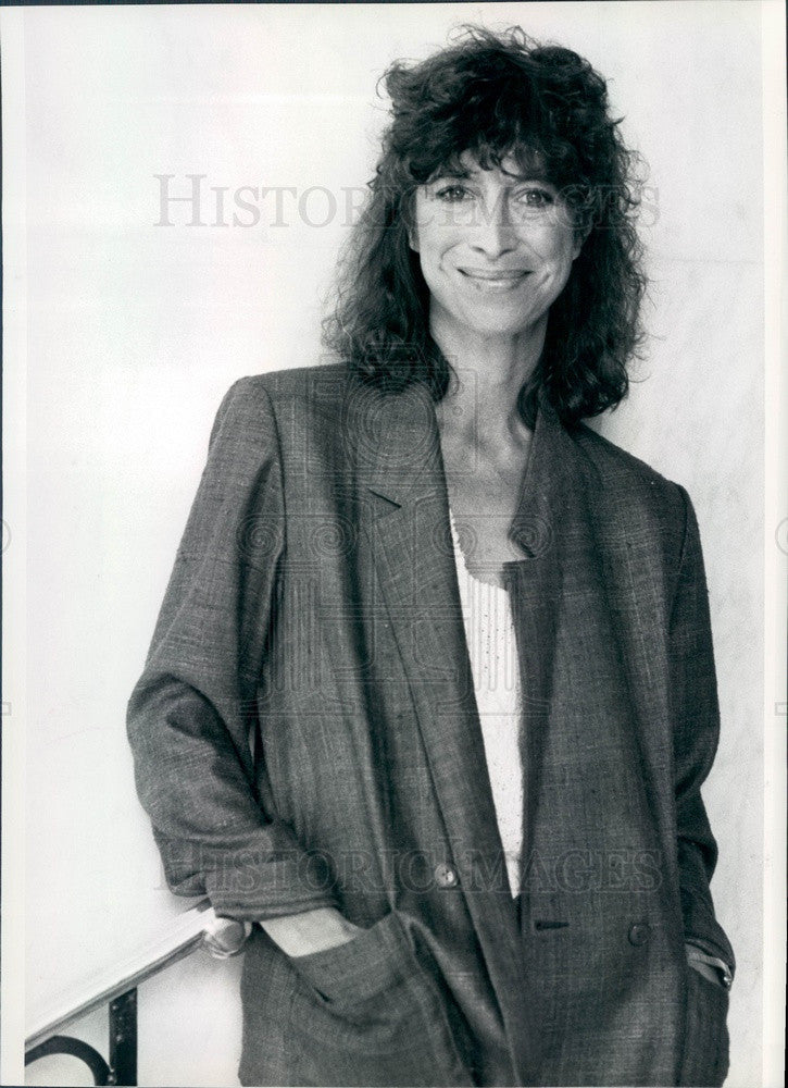 1982 Hollywood Actress Valerie Curtin Press Photo - Historic Images