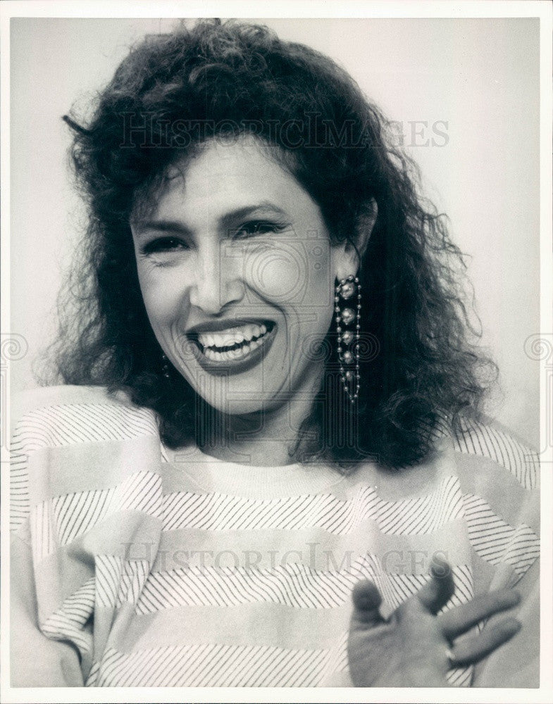 1987 Hollywood American Singer/Song-Writer/Actor Melissa Manchester Press Photo - Historic Images