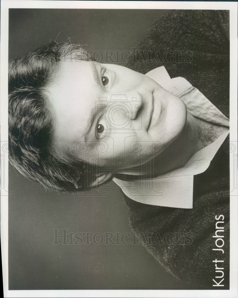 1987 Hollywood Actor/Director Kurt Johns Press Photo - Historic Images
