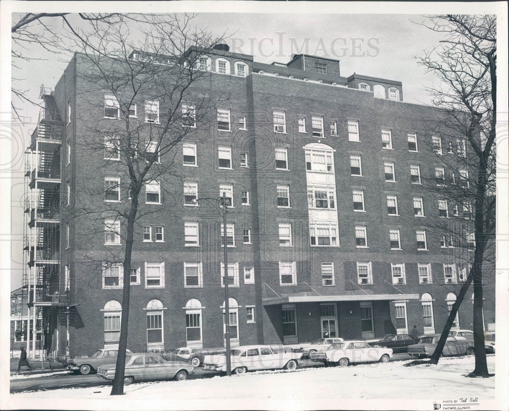 1966 Chicago, Illinois Provident Hospital & Training School Press Photo - Historic Images