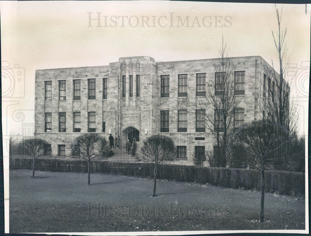 1939 Indiana University Calumet Extension Center Building Press Photo - Historic Images