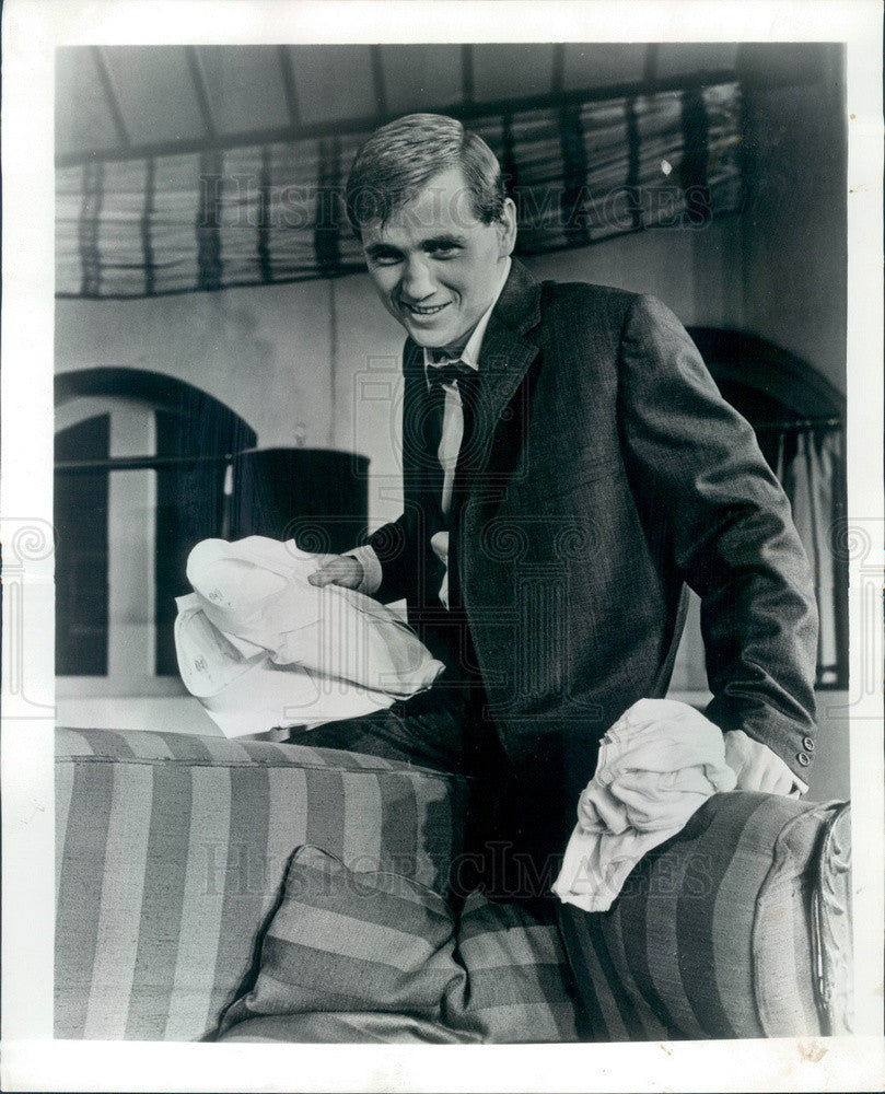 1965 Actor Phillip Clarke Press Photo - Historic Images