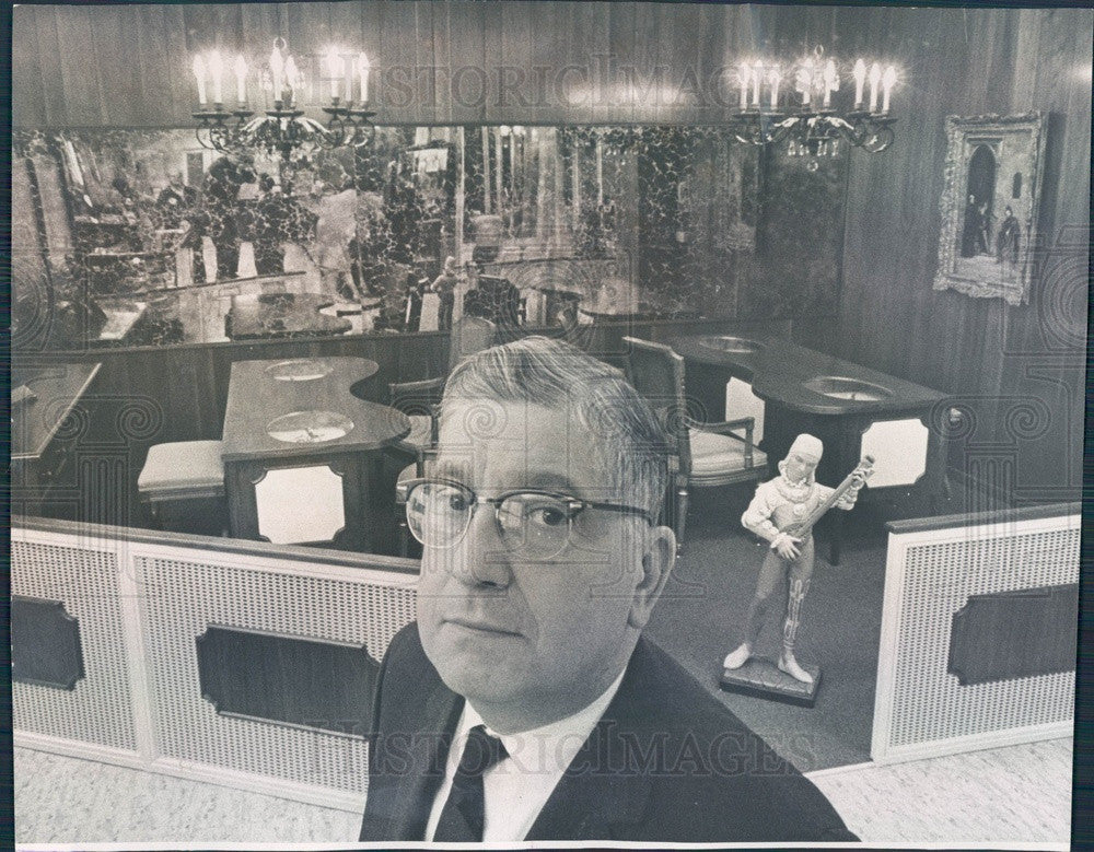 1963 Denver CO Argenzio Brothers Jewelers Co-Founder Victor Argenzio Press Photo - Historic Images