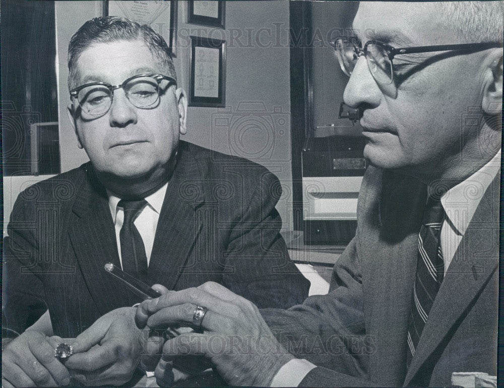 1960 Denver, Colorado Argenzio Brothers Jewelers Founders Press Photo - Historic Images