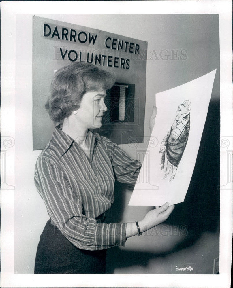 1964 Chicago, Illinois Clarence Darrow Community Center Director Press Photo - Historic Images