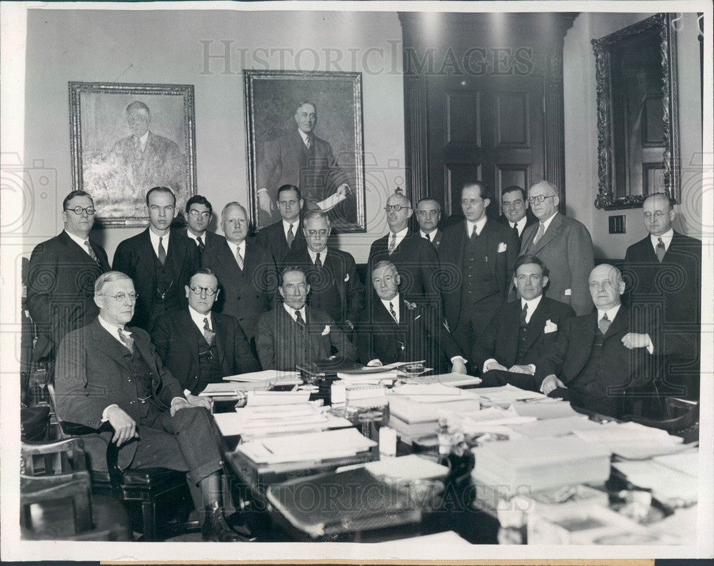 1933 New Jersey, Conference of Governors of the Eastern States Press Photo - Historic Images