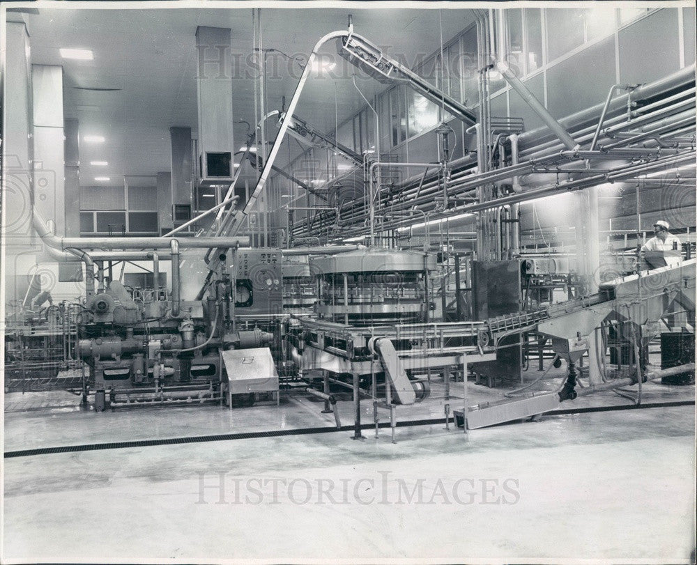 1977 Gerber Baby Food Products Company, Filling Machines Press Photo - Historic Images