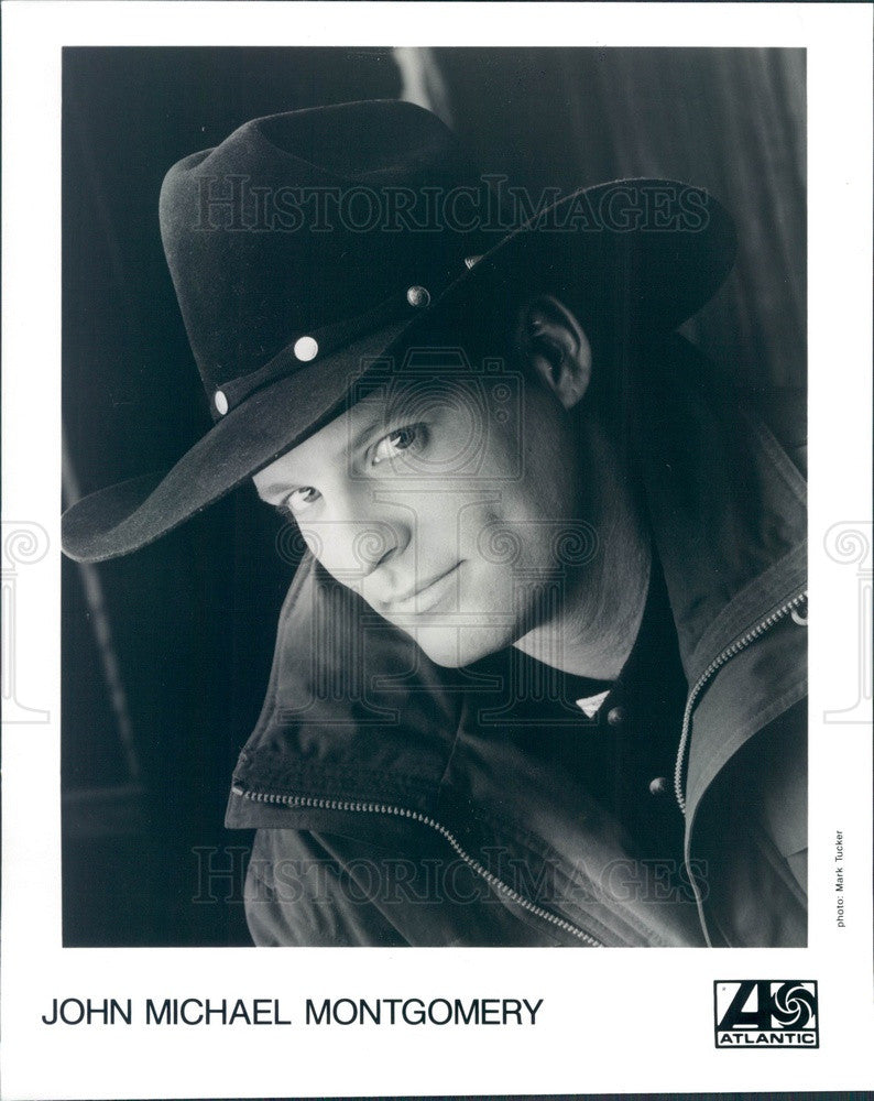 1995 Country Singer John Michael Montgomery Press Photo - Historic Images
