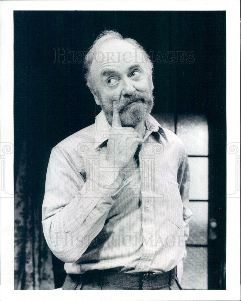 1992 Hollywood American Actor & Playwright Jerome Kilty Press Photo - Historic Images