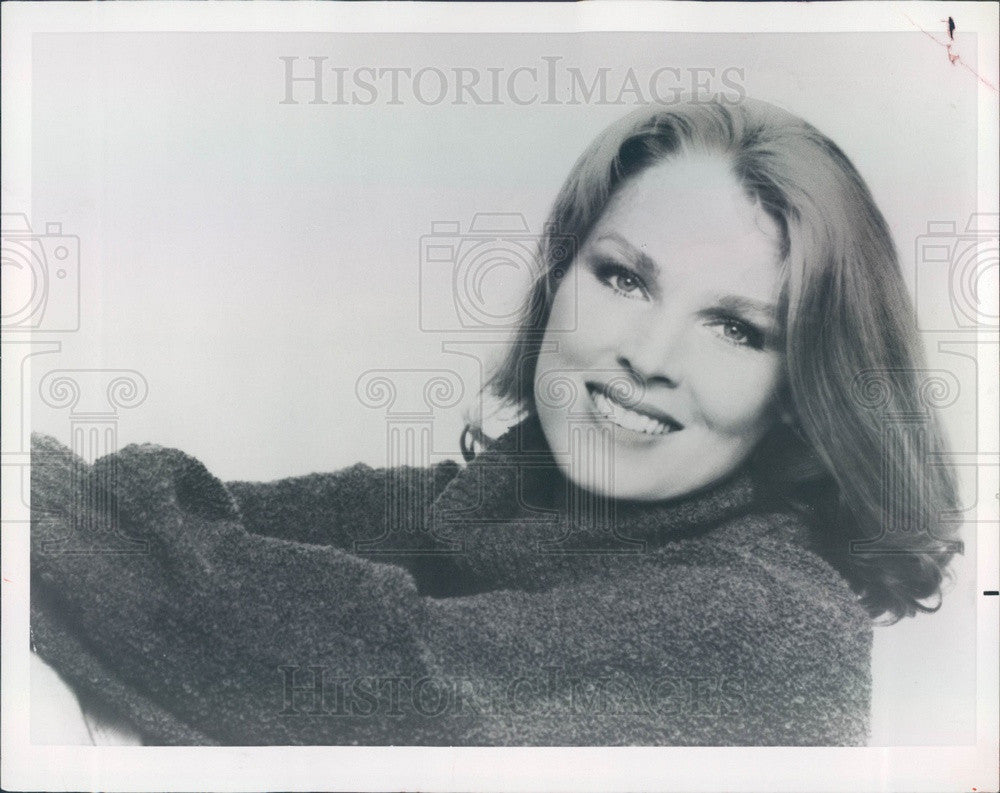 1979 Hollywood American Actress & Movie Star Mariette Hartley Press Photo - Historic Images