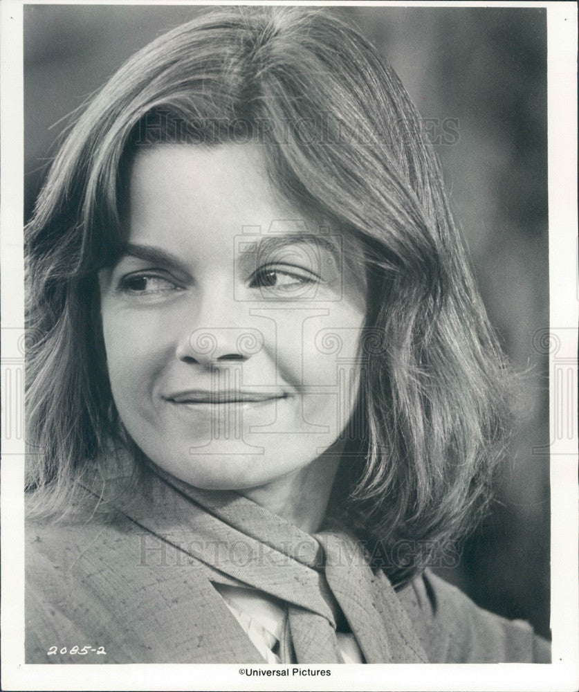 1976 Hollywood Canadian Actress & Movie Star Genevieve Bujold Press Photo - Historic Images