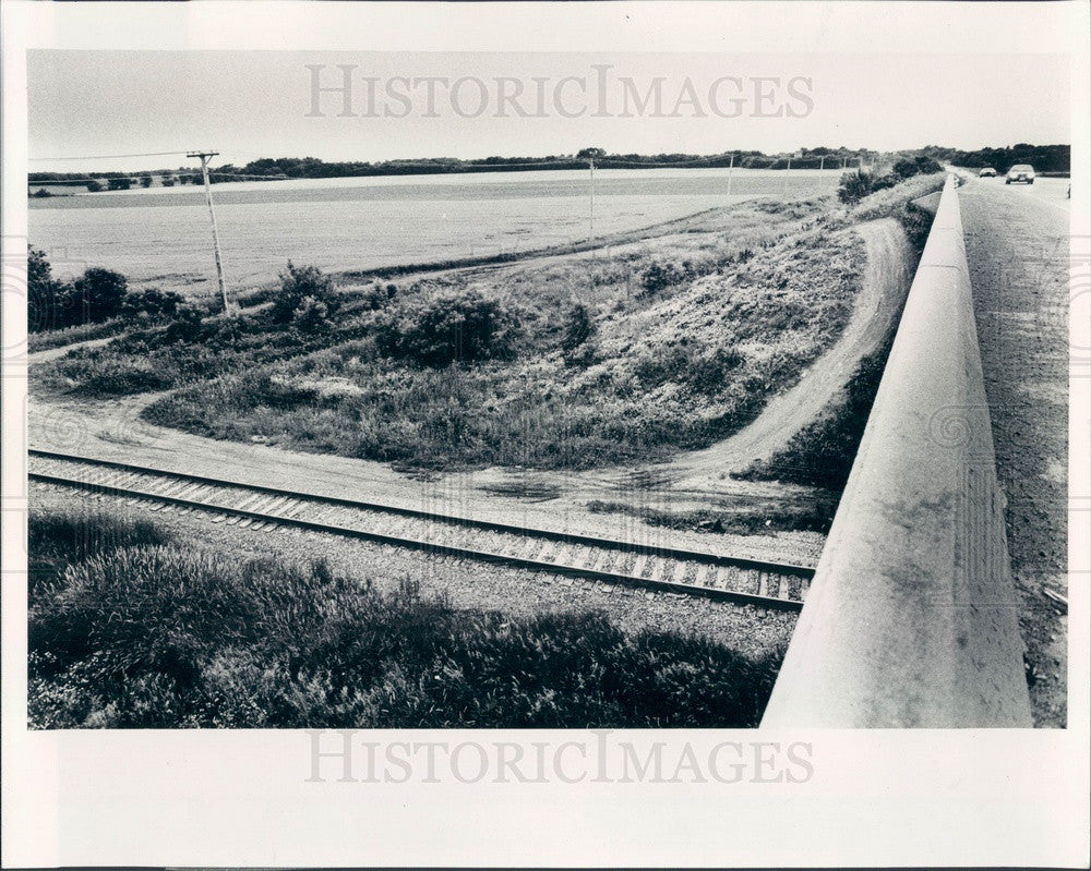 1989 Chicago, Illinois Sears Roebuck New Headquarters Site Press Photo - Historic Images