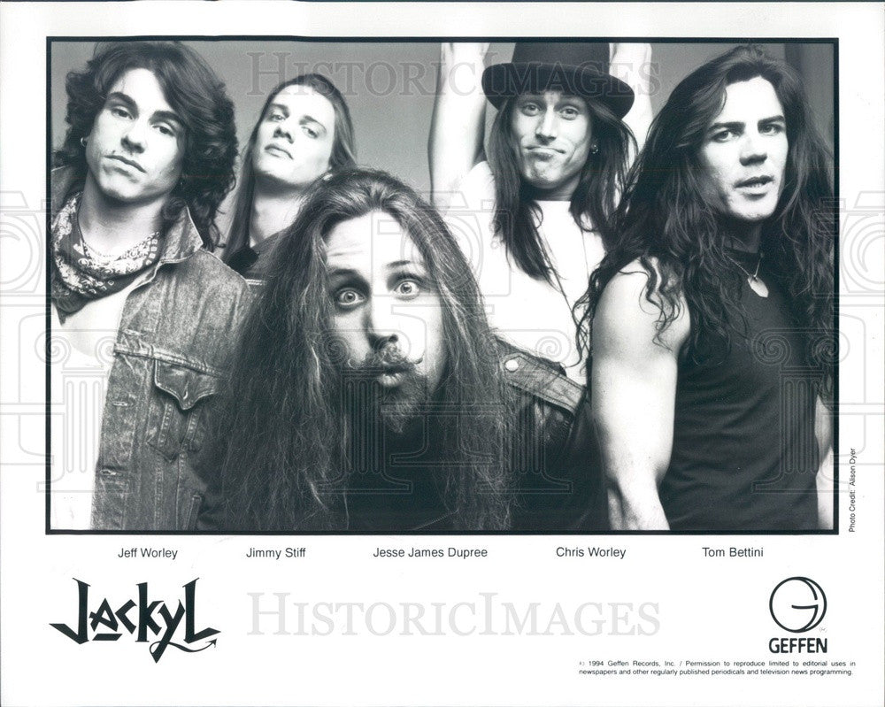 1994 Rock Band Jackyl Press Photo - Historic Images