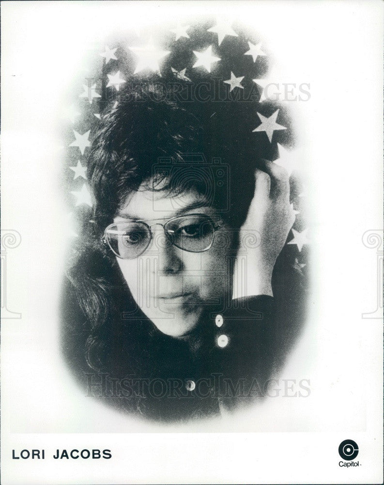 Undated Singer Lori Jacobs Press Photo - Historic Images