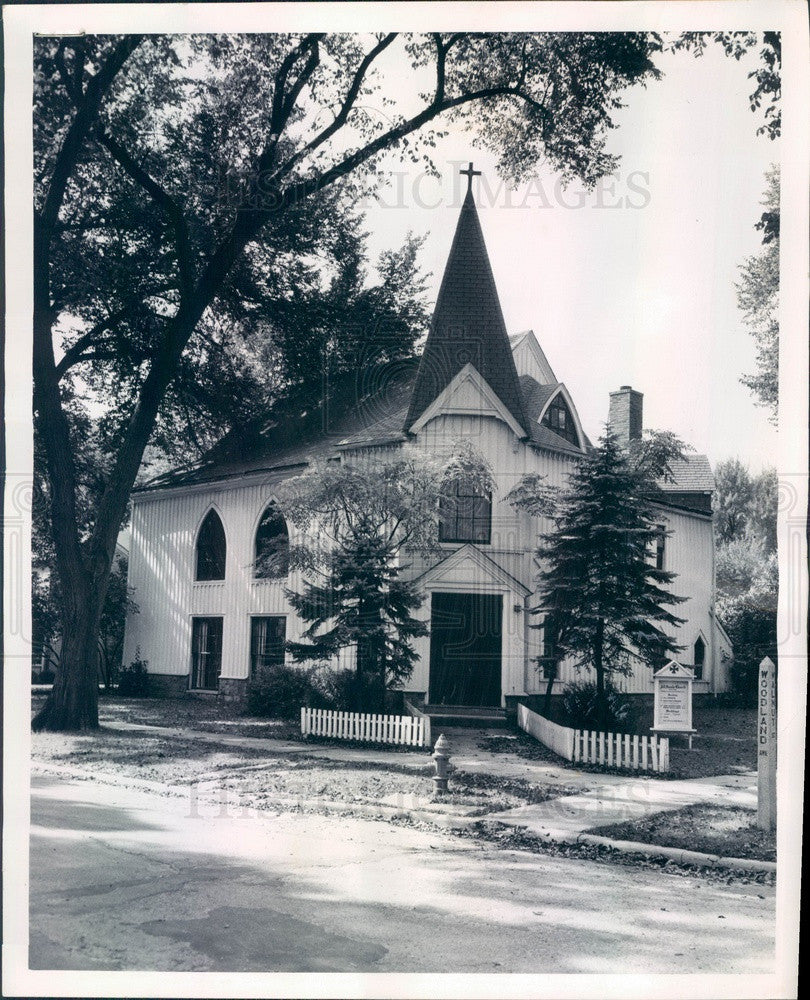 1959 Western Springs, Illinois All Saints Episcopal Church Press Photo - Historic Images