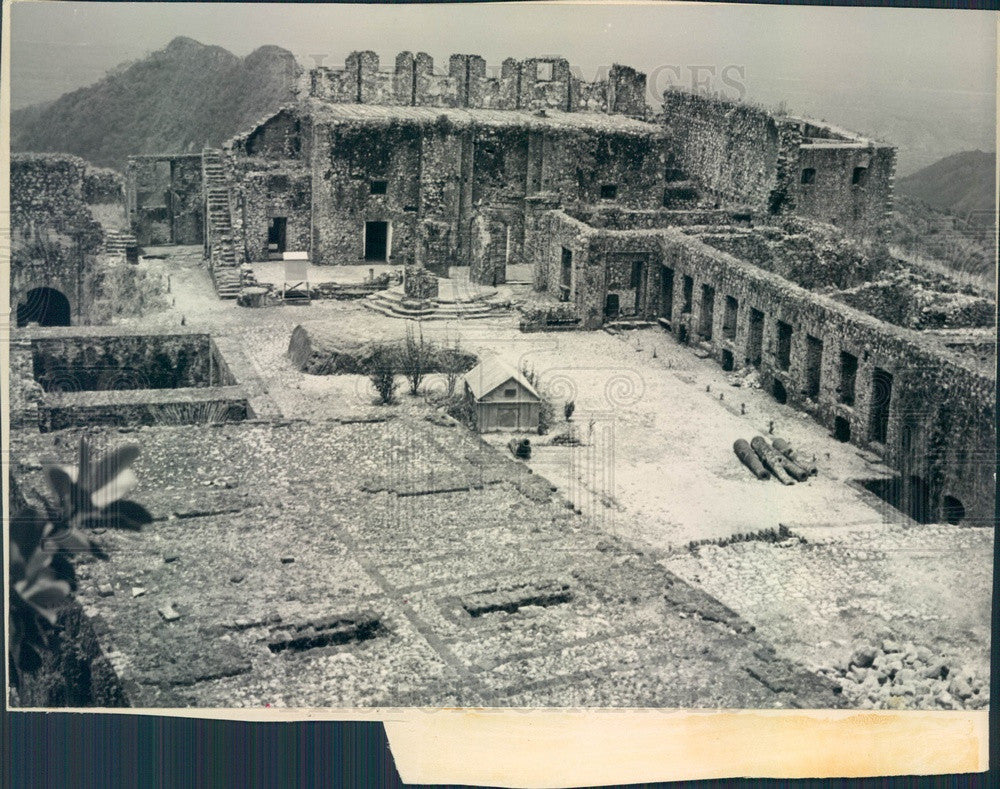 1939 Haiti, Citadel Laferriere Press Photo - Historic Images