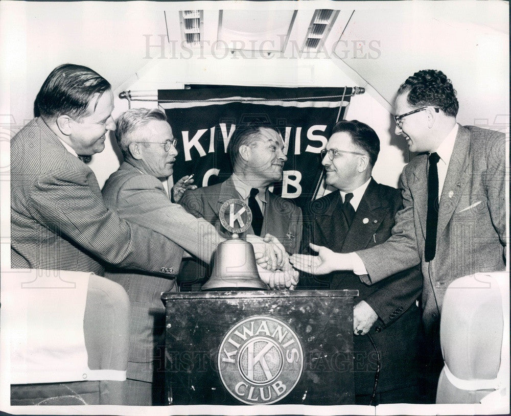 1952 Chicago, Illinois Austin Kiwanis Club Members Press Photo - Historic Images
