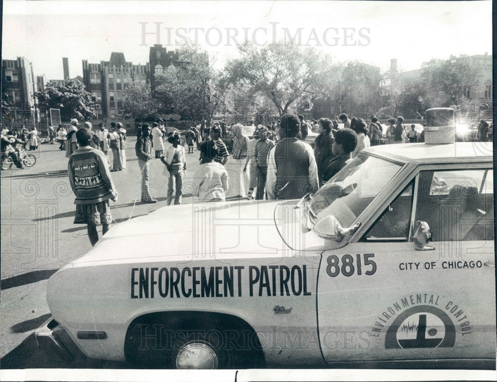 1977 Chicago, Illinois Environmental Control Vehicle at Bryn Mawr Press Photo - Historic Images