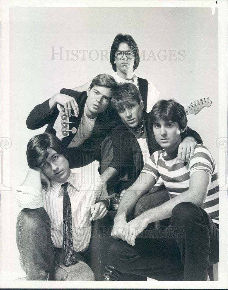 1982 British Punk Rock Band The innocents Press Photo - Historic Images