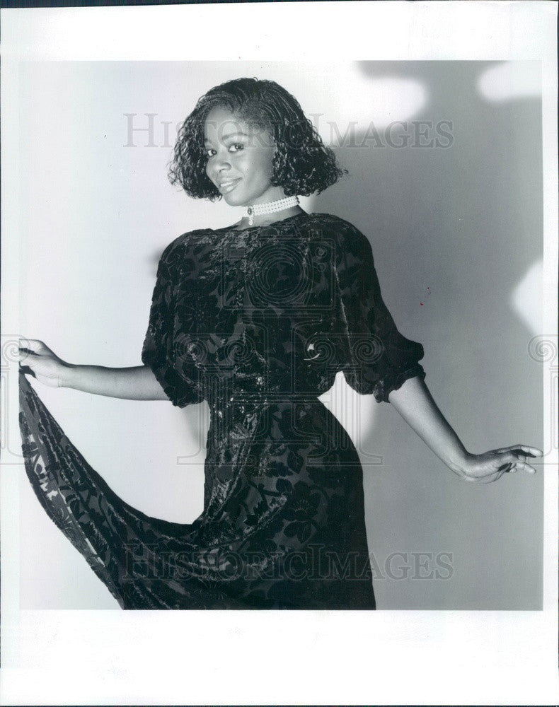 1986 Ghanaian Actress & Movie Star Akosua Busia Press Photo - Historic Images