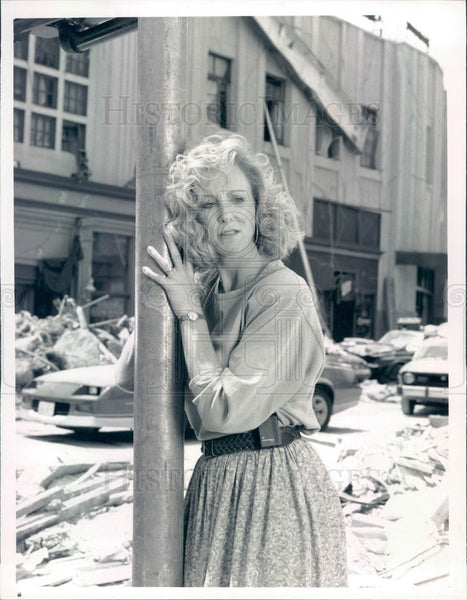 1990 Hollywood American Actress Joanna Kerns Press Photo - Historic Images