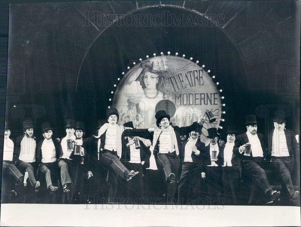 1976 Lyric Opera of Chicago Les Contes D'Hoffman Scene Press Photo - Historic Images