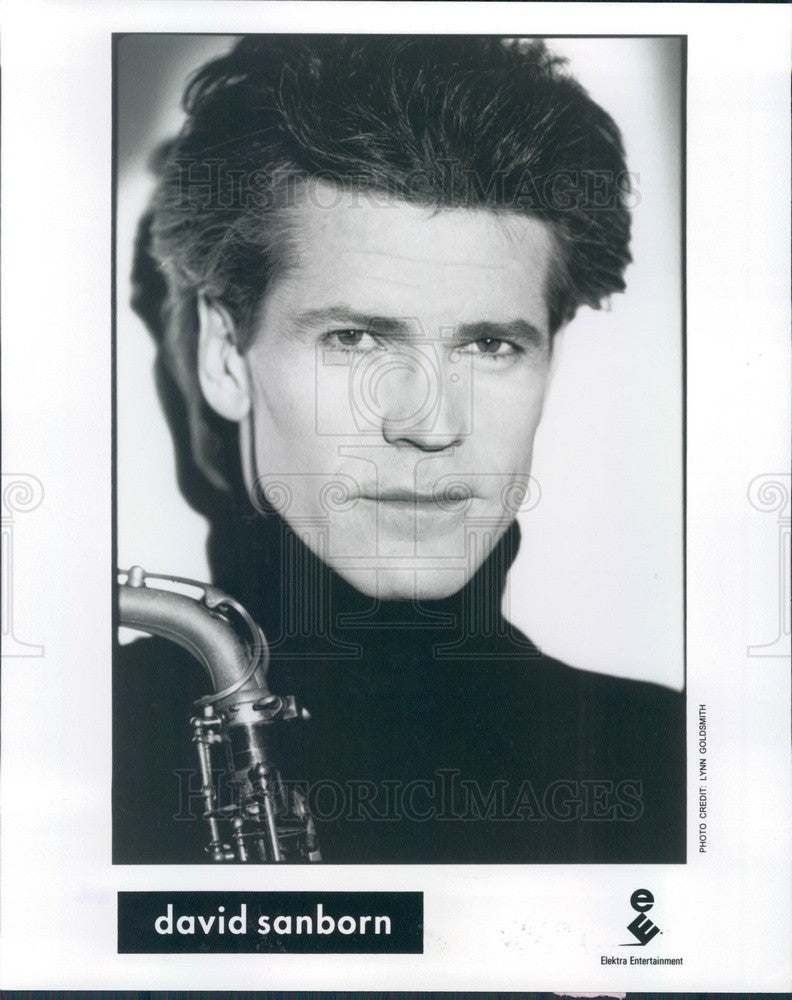 1994 Saxophonist David Sanborn Press Photo - Historic Images