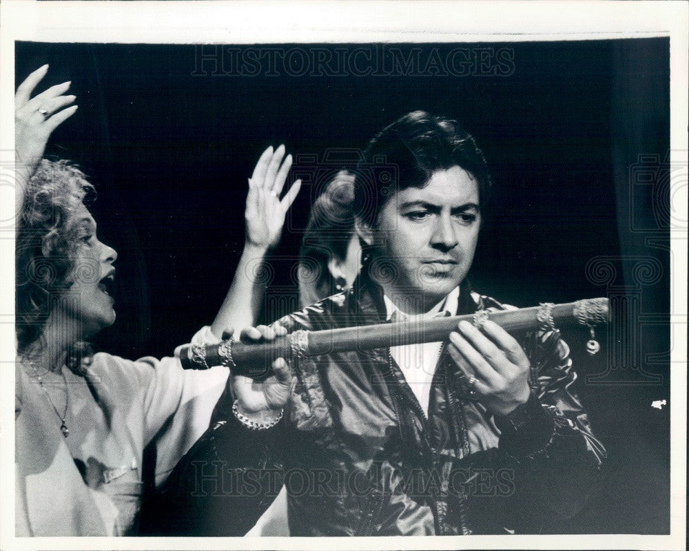 1986 Lyric Opera of Chicago, Francisco Araiza & Barbara Daniels Press Photo - Historic Images