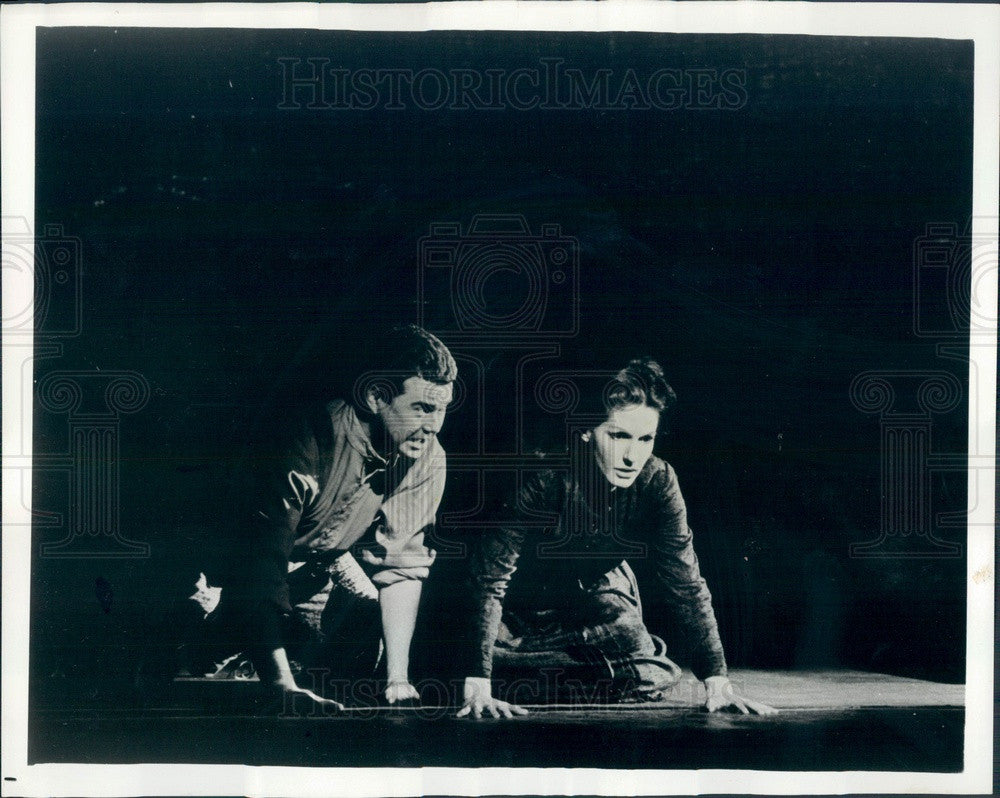 1966 Lyric Opera of Chicago, Maralin Niska & Robert Cowden Press Photo - Historic Images