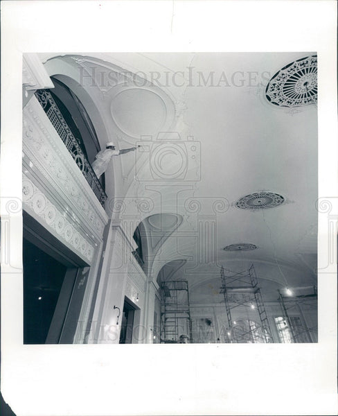 Undated Chicago, Illinois Orchestra Hall Renovation Press Photo - Historic Images