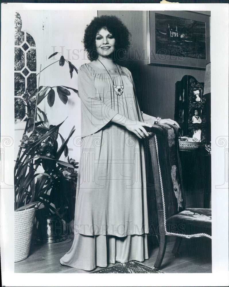 1979 Singer Cleo Laine Press Photo - Historic Images