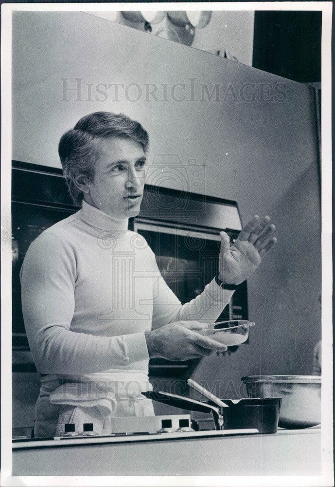 1979 Denver, Colorado Cordon Bleu Chef Richard Grausman Press Photo - Historic Images