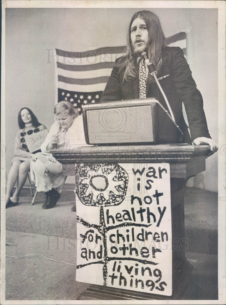 1971 Denver, Colorado Mayoral Candidate Lann Meyers Press Photo - Historic Images
