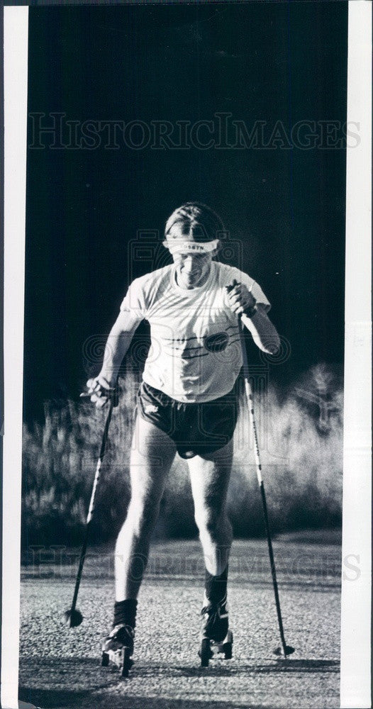 1979 Denver, Colorado Athlete Peter Hoag Press Photo - Historic Images