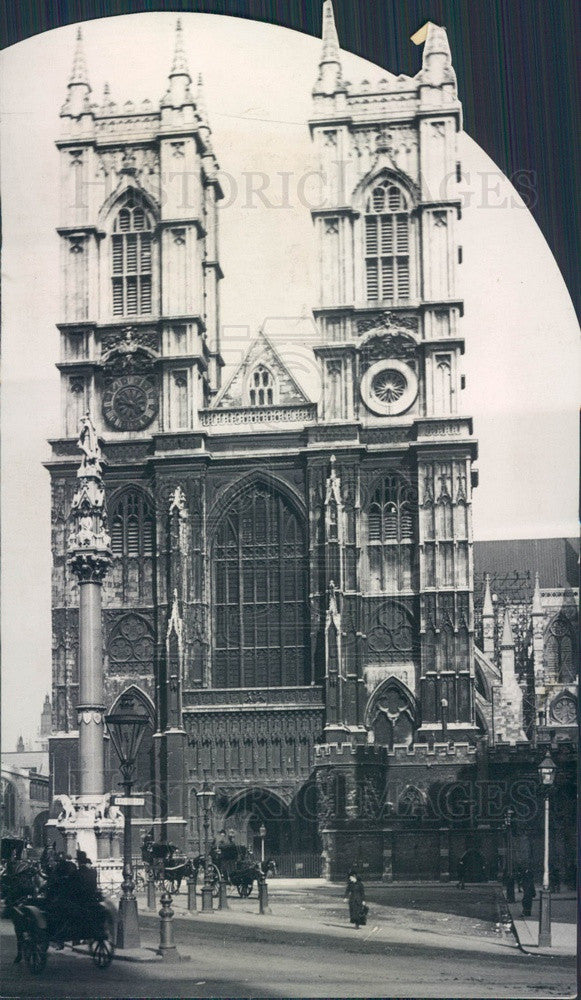 1937 London, England Westminster Abbey Press Photo - Historic Images