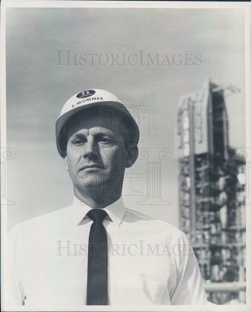 1963 Martin Co Titan II/Gemini Operations Director Eugene Mommer Press Photo - Historic Images