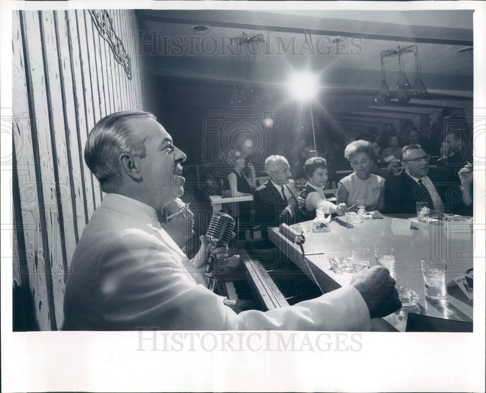 1966 Singer Neal Patterson Press Photo - Historic Images