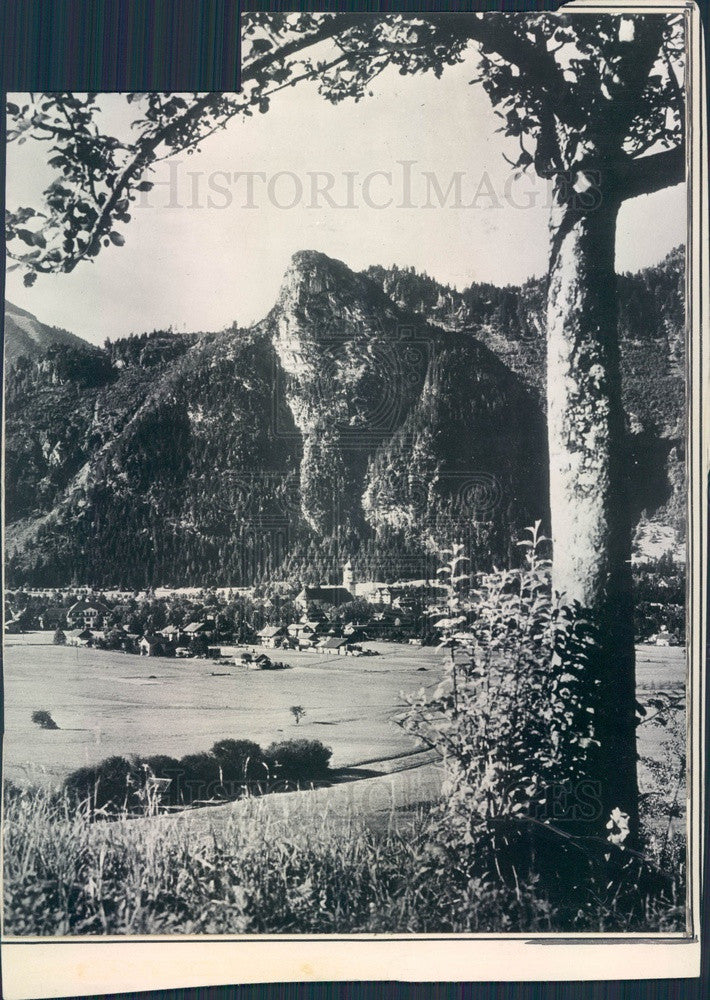 1934 Oberammergau, Bavaria, Germany Press Photo - Historic Images