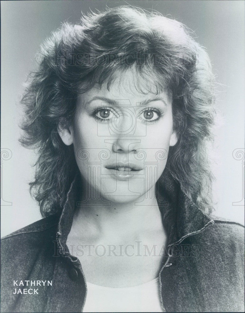 1987 Hollywood Actress Kathryn Jaeck Press Photo - Historic Images