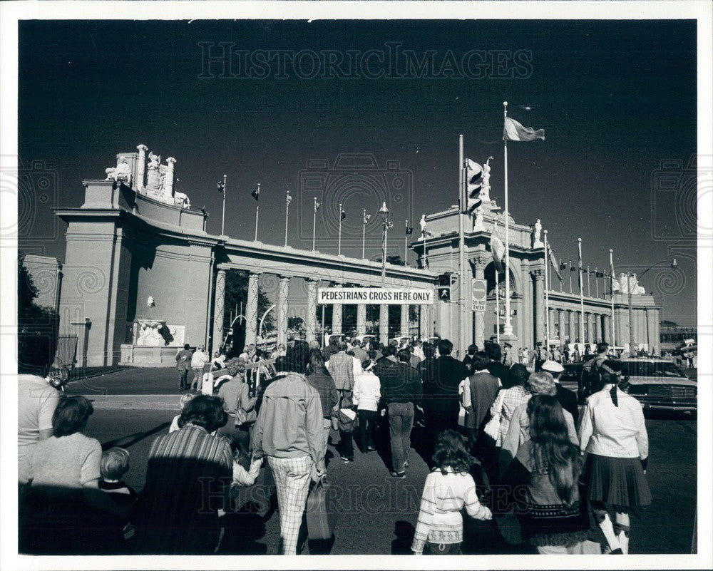 1981 Toronto, Canada Exposition Center Press Photo - Historic Images