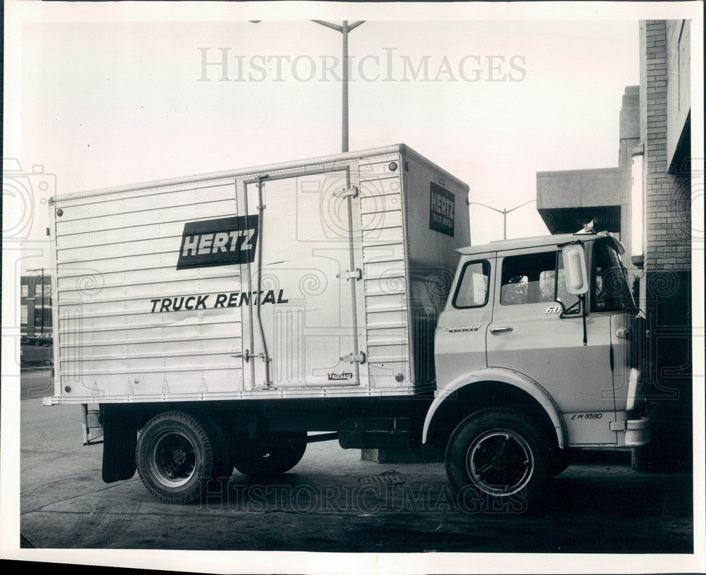 1964 Cicero, Illinois Hertz Rental Truck Loaded With Stolen Goods Press Photo - Historic Images