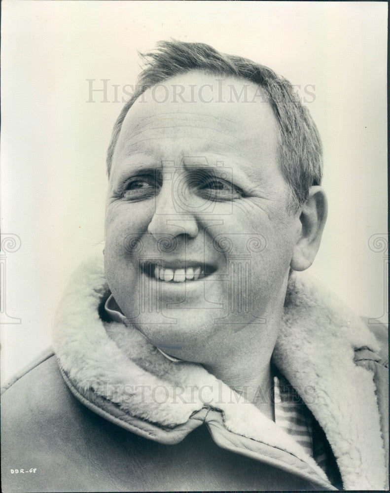 1968 Award Winning Film & TV Producer David L Wolper Press Photo - Historic Images