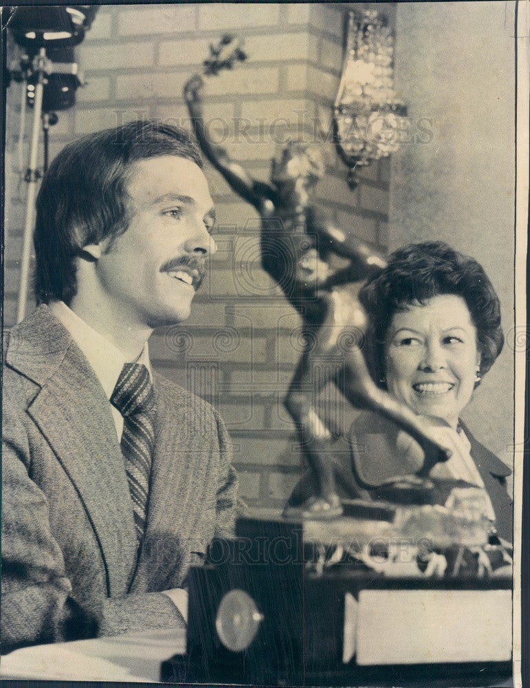 1974 Olympic Runner Rick Wohlhuter, Sullivan Award Winner Press Photo - Historic Images