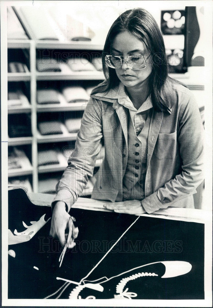 1978 Chicago, IL Rosalinda Lynch of Domus Store Press Photo - Historic Images