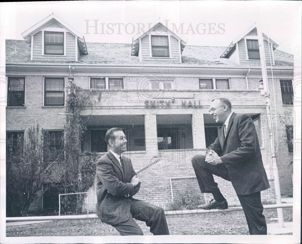 1963 Denver, Colorado Junior College President ES French & Dean Press Photo - Historic Images
